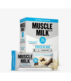 Muscle Milk 12 bars Cookies