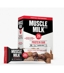 Muscle Milk 12 bars Double fudge