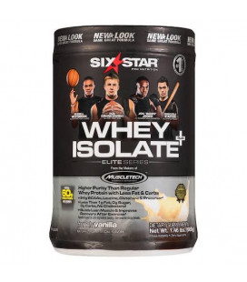 Whey Isolate 1.5lbs - Six Stars