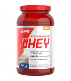 MET-Rx 100% Whey Protein 2lb