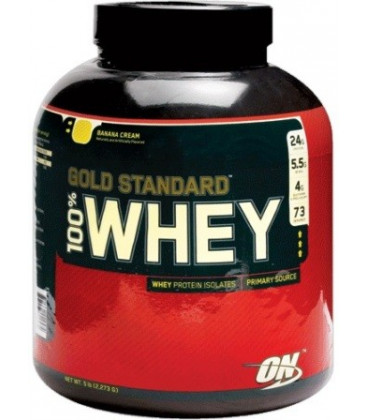 100% Whey Gold standard 5lb