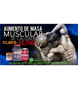 Combo para aumentar musculo